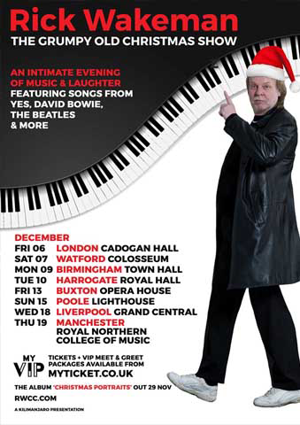 An intimate evening of music and laughter with Rick Wakeman