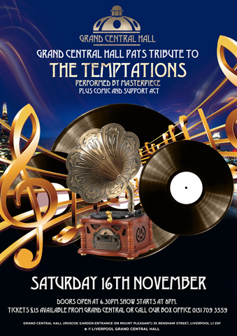a Tribute evening to The Temptations